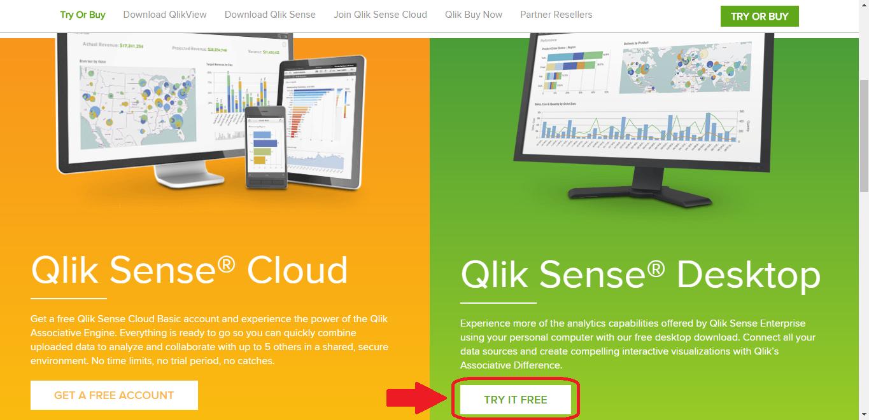 Скачиваем Qlik Sense Desktop (Бесплатно)
