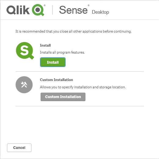 установка инсталляция кликсенс qliksense qlik sense desktop