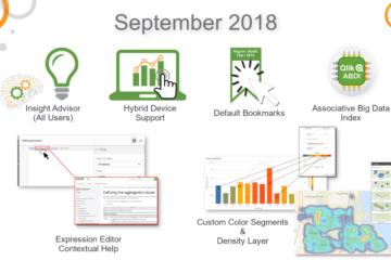 Обзор функциональности нового релиза. What's New - Qlik Sense September 2018