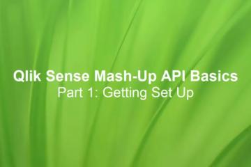 Qlik Sense Extension & Mashup Tutorial - Qlik Sense